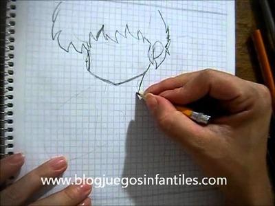 Cómo dibujar a Ranma Saotome