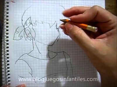 Cómo dibujar a Rioga Hibiki