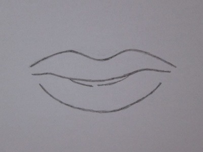 Cómo dibujar la boca de un hombre