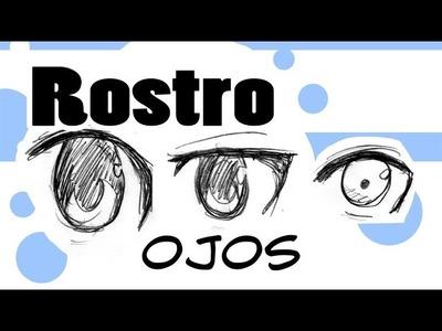 Como dibujar Manga | Dibujando Ojos