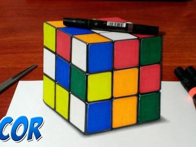 Dibujando el Cubo Rubik en 3D