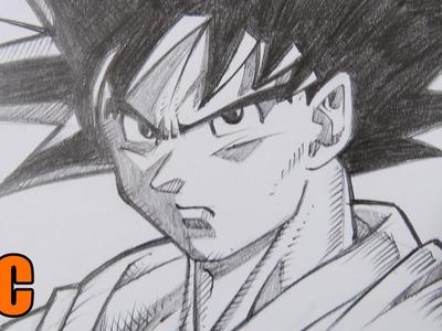 Dragon Ball Z 2015 - Como Dibujar a Goku