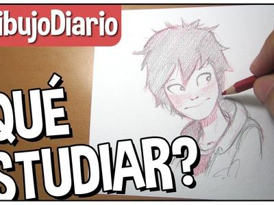 ¿Qué estudiar para hacer cómics? por Trevino Art #DibujoDiario