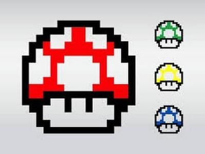 Como dibujar a el hongo de Mario Bros|Lucio Dibuja
