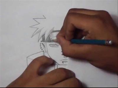 Como dibujar a Pain (paso a paso)