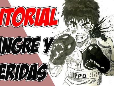 Como Dibujar Manga: Sangre y Heridas