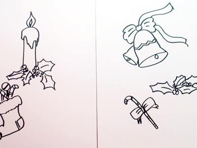 Pulseras de hilo f ciles con brillantes my crafts and diy - Motivos navidenos dibujos ...