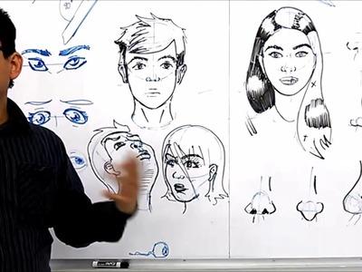 Curso Taller de Dibujo - Como dibujar Rostros I (Subtitulos)