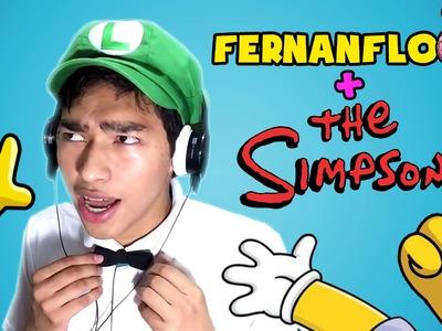 COMO DIBUJAR A FERNANFLOO ESTILO SIMPSON - ART CHALLENGE - Como sería Fernafloo si fuera un Simpson?