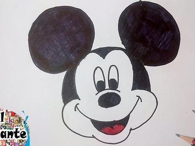 Como Dibujar a Mickey Mouse paso a paso [El Dibujante]