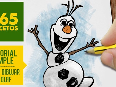 COMO DIBUJAR A OLAF DE FROZEN PASO A PASO - Kawaii facil - How to draw a Olaf