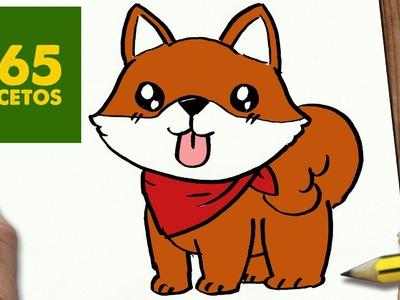 COMO DIBUJAR UN PERRO AKITA INU PASO A PASO: Os enseñamos a dibujar un perro fácil para niños