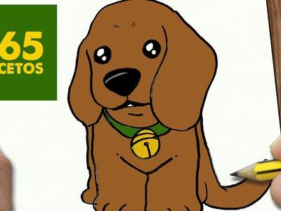 COMO DIBUJAR UN PERRO COCKER PASO A PASO: Os enseñamos a dibujar un perro fácil para niños