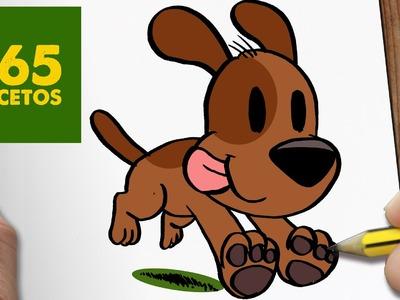 COMO DIBUJAR UN PERRO CORRIENDO PASO A PASO: Os enseñamos a dibujar un perro fácil para niños