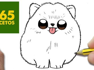 COMO DIBUJAR UN PERRO PASO A PASO: Os enseñamos a dibujar un perro fácil para niños