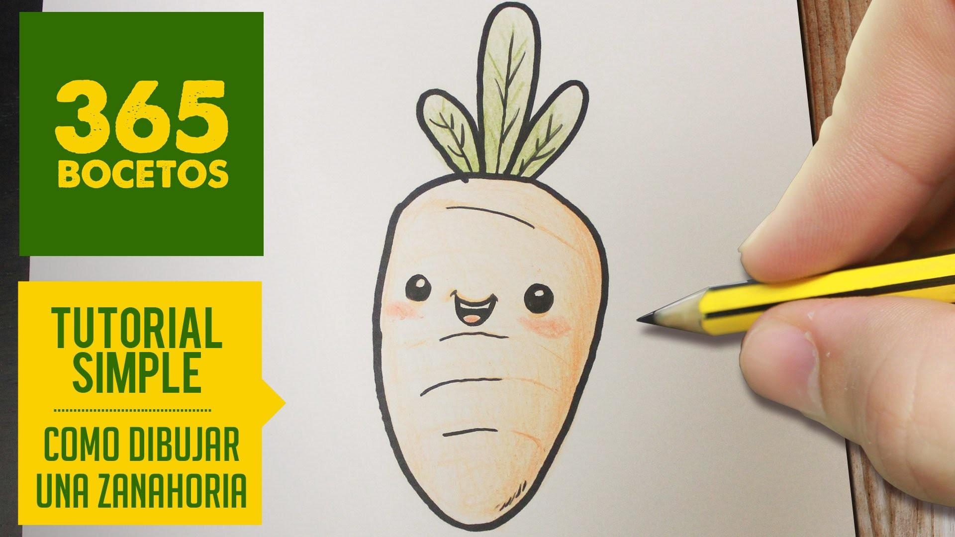 Como Dibujar Un Zanahoria Facil Paso A Paso Kawaii Aprender A Dibujar Para Ninos Y Mayores Para interesar al niño en el proceso de dibujo, ofrecemos algunos datos interesantes: como dibujar un zanahoria facil paso a
