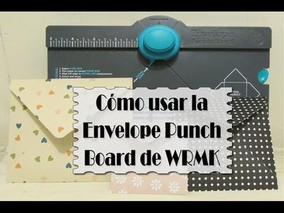 Cómo usar la Envelope Punch Board de We R Memory Keepers | Luisa PaperCrafts