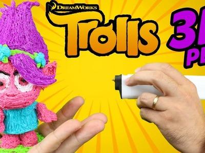 DIBUJANDO EN EL AIRE MUÑECOS 3D! PLUMA 3D - 3D printing Pen - Dibujando Trolls