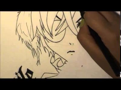Drawing Ciel Phantomhive - Kuroshitsuji - Book of Circus