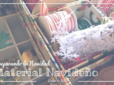 Preparando la Navidad. Scrapbooking. Tips organización. Compras navideñas. Navidad Scrapbook.