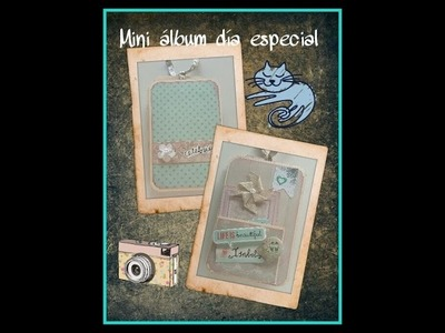 Tutorial mini album ocasion especial
