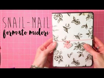 TUTORIAL SCRAPBOOKING estructura para snail mail
