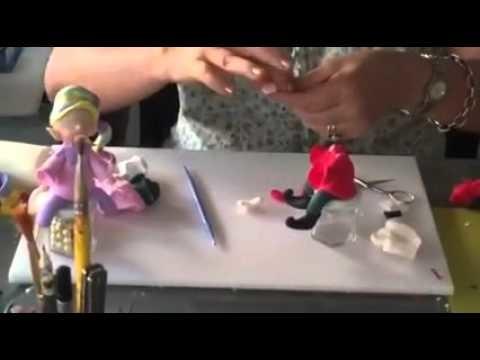 Breve tutorial para hacer un pequeño duende navideño