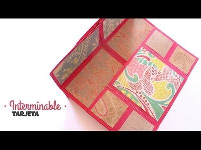 Carta Tarjeta Sin Fin! | Fácil y Bonito