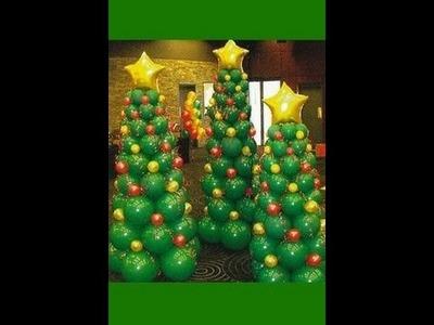 Còmo Hacer un Àrbol de Navidad en Globos  - Hogar Tv  por Juan Gonzalo Angel