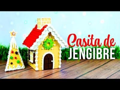 Decora la Navidad Casita de Jengibre hecha con Cartón de @DreenCanal  ❤️
