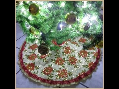 Pie O Faldon De Arbol.Tree stand or flap --CariCositas--