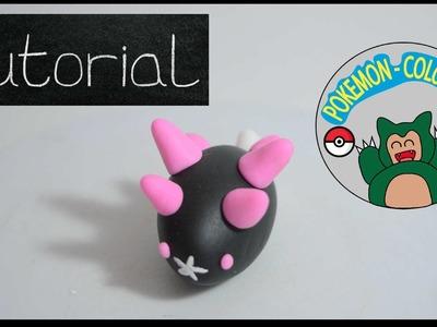 Pokemon ✰pyukumuku Tutorial ✰pokemon luna ✰region alola Clay ✰ Porcelana Fría ✰plastilina✰ pokemon ✰