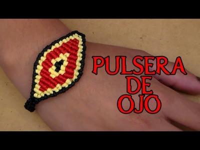 Pulsera de Hilo: Pulsera de Ojo