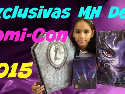 Revision de Monster High Exclusivas de Comicon 2015