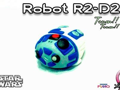 Robot R2-D2 | Polymer Clay | Tsum Tsum | Tutorial