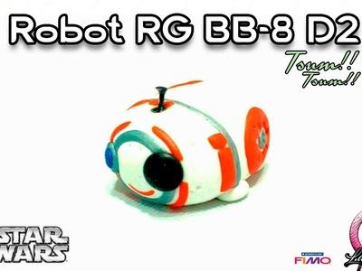 Robot RG BB-8 D2 | Polymer Clay | Tsum Tsum | Tutorial