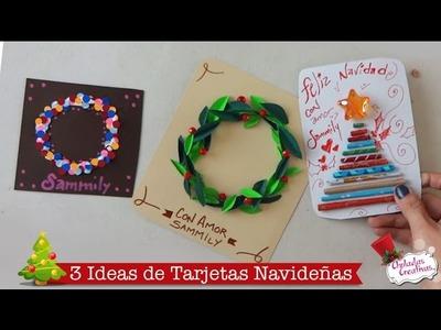 Tarjetas fáciles de Navidad :: Manualidades Navideñas :: Chuladas Creativas