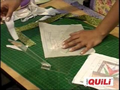 Tecnica de Papel con Regla Especial de Patchwork en participadcion de Piccolo Feria de Cali 2a parte