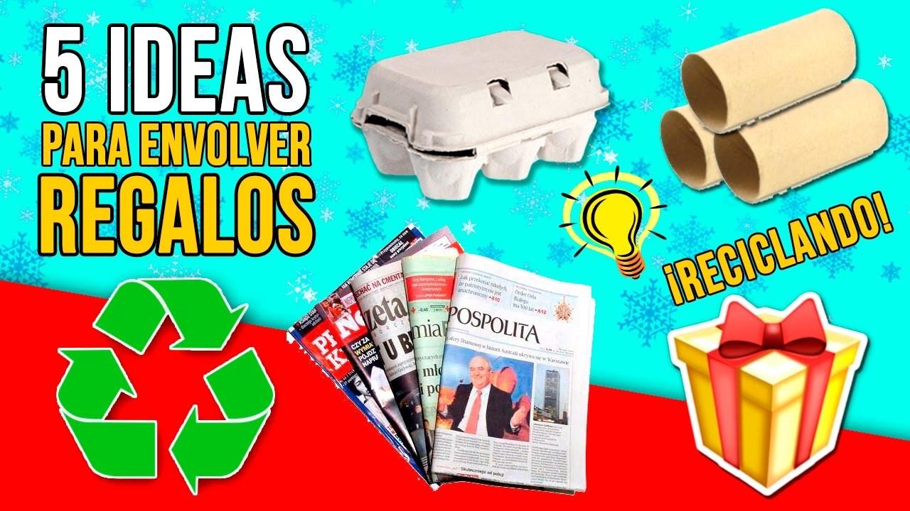 5 ideas originales para envolver tus regalos de navidad for Regalos originales para navidad manualidades