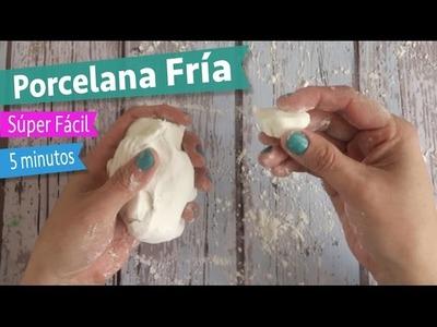 Cómo hacer Porcelana Fría o Pasta Francesa :: 5 minutos