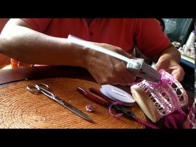 Como hacer un servilletero diferente
