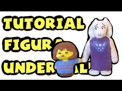 Cómo hacer una figura de Toriel y Frisk - Tutorial Undertale