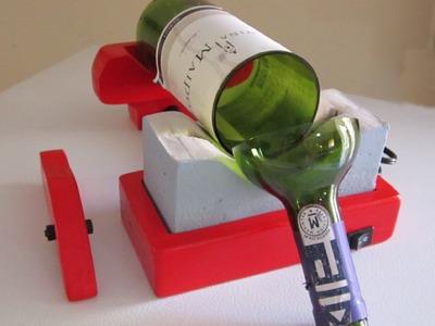 Cómo usar la Cortadora de Botellas