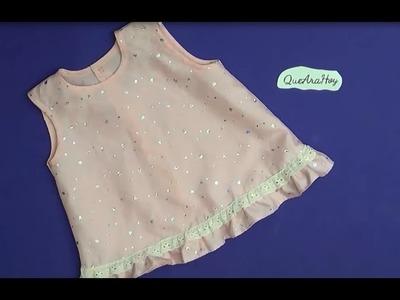 Confección del vestido de Bebe  Alta Costura para NIÑOS clase # 50