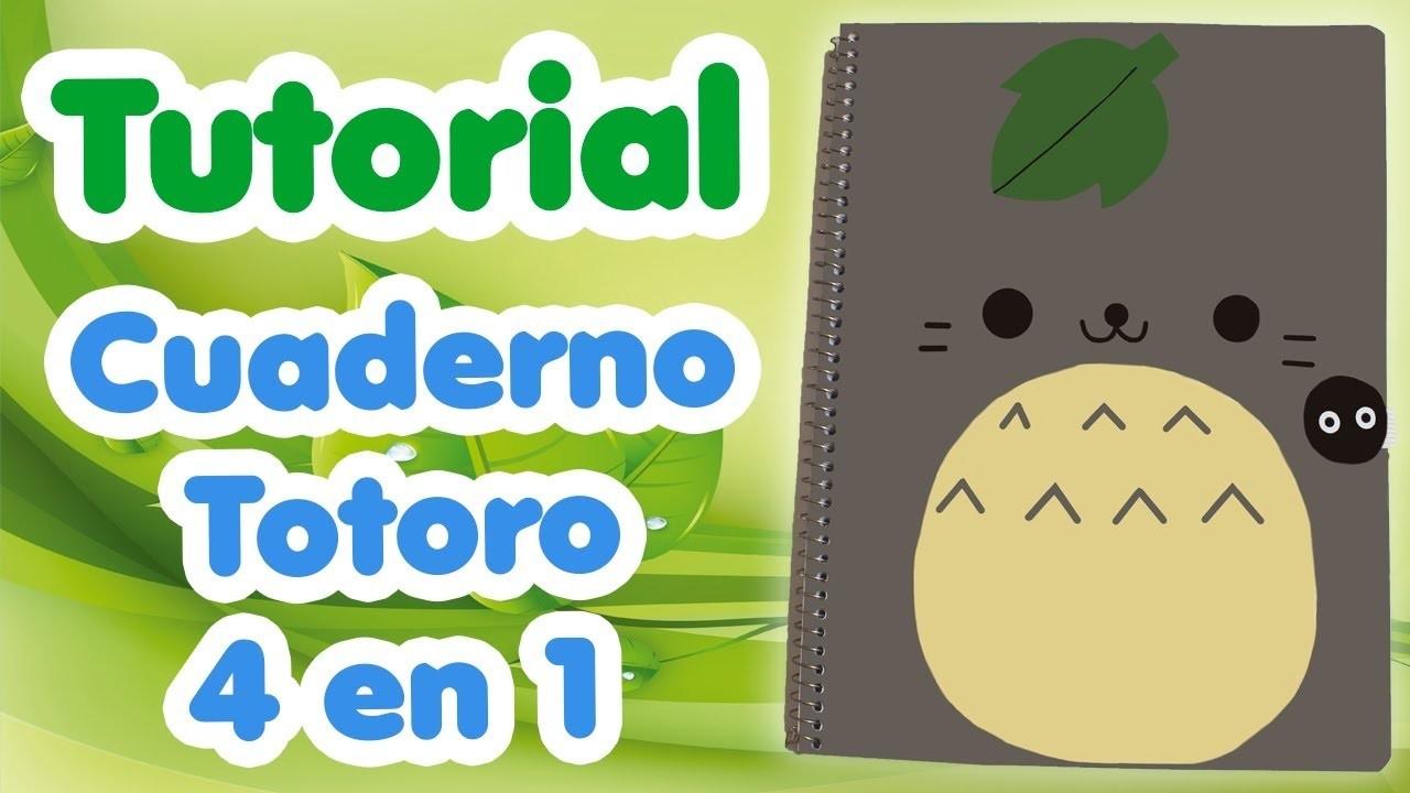 Cuaderno Totoro 4 en 1 - Regreso a Clases 2016