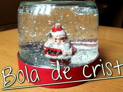 DIY: Adorno de navidad | Bola de cristal