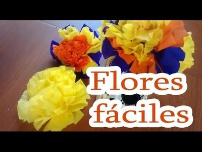Flores faciles para el altar