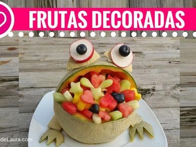 SAPO DE FRUTAS KAWAII ❤ Figuras con frutas ❤ Las Recetas de Laura ❤ Edible Arrangements