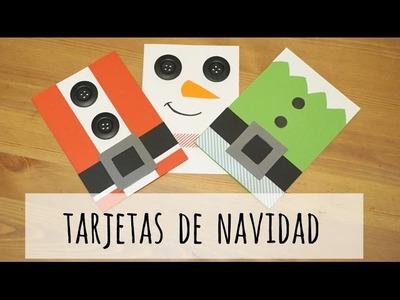 Tarjetas de Navidad (4 ideas fáciles!) - Vídeo Express