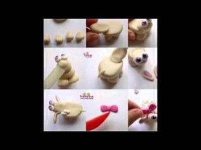 Como hacer figuras de arcilla paso a paso